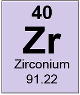 Periodic table 2 essay examples this is how zirconium appears in the periodic table rounded to the nearest whole number urtaz Choice Image