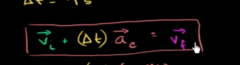 Must remember the formula that calculates final velocity for constant acceleration?
