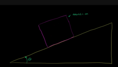 Now lest look at incline Plane and try to understand force components: this is very important.