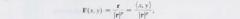 Radial Vector Field formula?