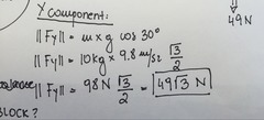 Step # 3 Calculate the Y component