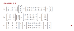 What is the Row-Vector Rule for computing ???